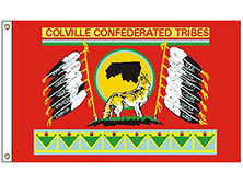 Colville Confederated Tribe Flag