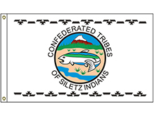 Confederated Tribes of the Siletz Reservation Tribe Flag