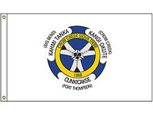 Crow Creek Sioux Tribe Flag