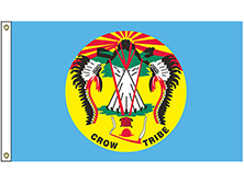 Crow Nation Tribe Flag
