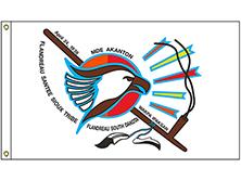 Flandreau Sioux Tribe Flag