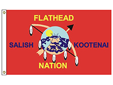 Flathead Nation Tribe Flag