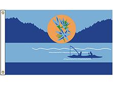 Kalispel Tribe Flag