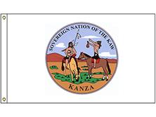 Kaw Tribe Flag