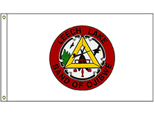 Leech Lake Tribe Flag