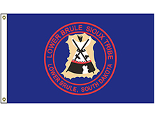 Lower Brule Sioux Tribe Flag