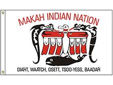 Makah Tribe Flag