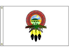Mandan Hidatsa Arikara Tribe Flag