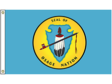 Osage Tribe Flag