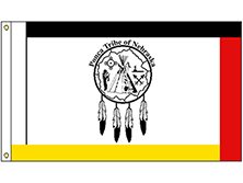 Ponca of Nebraska Tribe Flag