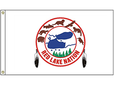 Red Lake Ojibwe Tribe Flag