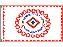 Rosebud Sioux Nation Tribe Flag
