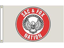 Sac & Fox of Oklahoma Tribe Flag