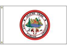 San Carlos Apache Tribe Flag