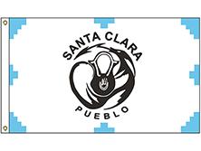 Santa Clara Pueblo Tribe Flag