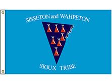 Sisseton & Wahpeton Tribe Flag