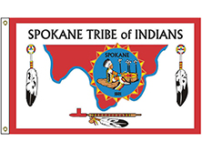 Spokane Tribe Flag