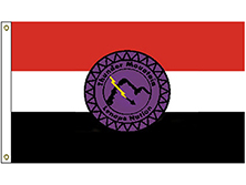 Thunder Mountain Lenape Tribe Flag