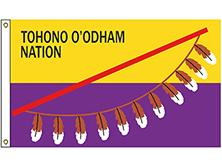 Tohono O'odham Tribe Flag