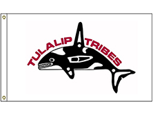Tulalip Tribes Flag