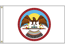 Uinah & Ouray Ute Tribe Flag