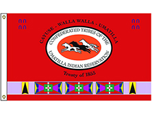 Umatilla Tribe Flag