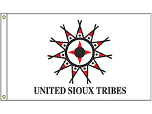 United Sioux Tribe Flag