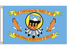 Warm Springs Tribe Flag