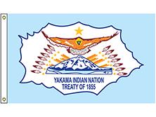 Yakama Indian Nation Tribe Flag