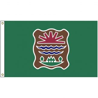 NAT-3x5-ABENAKI 3' x 5' Abenaki Tribe Flag With Heading And Grommets-0