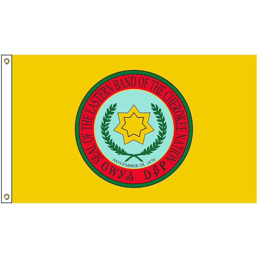 5/' x 3/' USA Indian Flag Apache Cherokee US America American Banner