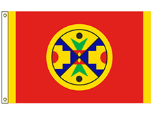 Eel Ground First Nation Mi'kmaq Tribe Flag
