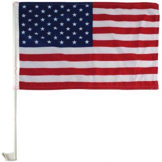 "AWF-LG01E 11"" x 18"" Economy US Car Flag - Imported-0"