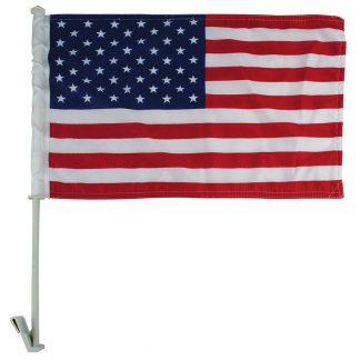"AWF-LG02P 11"" x 18"" Premium US Car Flag - Imported-0"