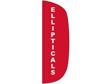 Ellipticals Flutter Feather Flag