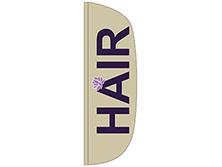 Hair Flutter Feather Flag