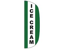 Ice Cream Flutter Feather Flag