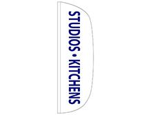 Studios & Kitchens Flutter Feather Flag