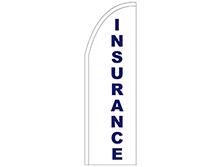 Insurance Half Drop Feather Flag