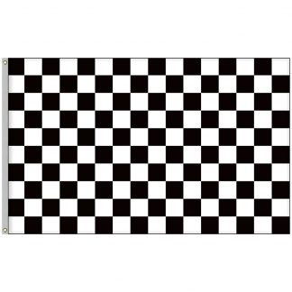 BWF-58 5' x 8' Outdoor Checkered Flag-0