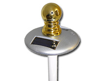 Spinner Pole Light