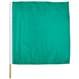 "IRM-305 30"" X 30"" Start Nylon Auto Racing Flag Mounted On Pole-0"