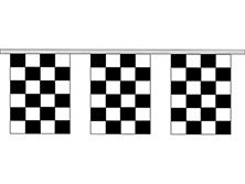 Rectangular 4 Mil Checkered Pennant Strings
