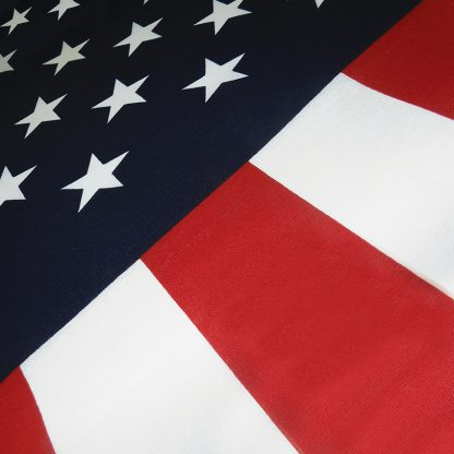PCF-35 3' x 5' U.S. Promotional Printed Poly/Cotton Flag-0