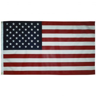 PCF-35 3' x 5' U.S. Promotional Printed Poly/Cotton Flag-45522