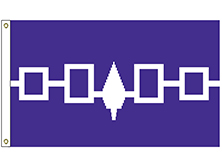 Iroquois Tribe Flag