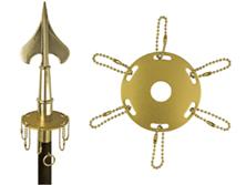 Metal Award Ribbon Ring