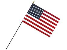 Classroom U.S. Stick Flags