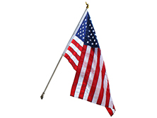 6 Ft Deluxe U.S. Flag Home Sets