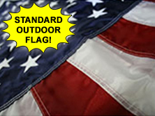 Nylon U.S. Flags